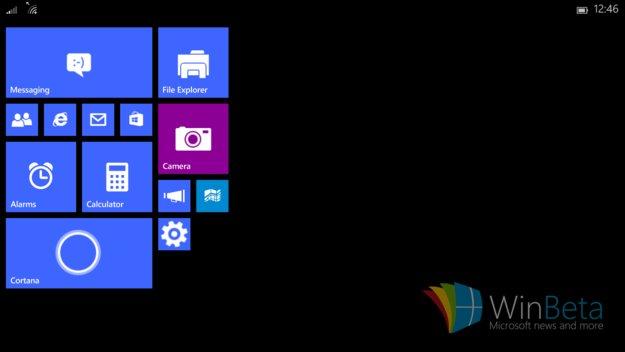 Windows 10 für kleine Tablets: Erste Screenshots aufgetaucht