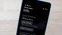 Microsoft verteilt Windows Phone 8.1 GDR 2 Update über Insider App
