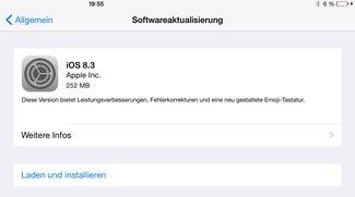iOS 8.3 steht mit vielen Verbesserungen zum Download bereit