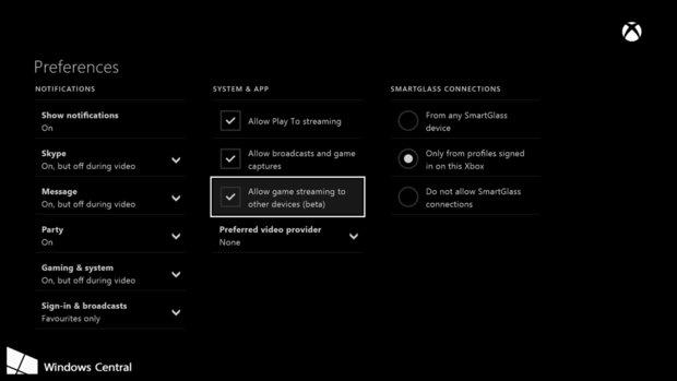 Windows 10: Xbox One Mai Update könnte Spiele-Streaming aktivieren