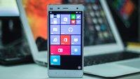 Xiaomi E4 Android-Smartphone mit Windows 10 im Video
