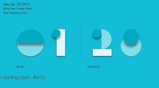 Google I/O 2015 Keynote per Video-Livestream ab 18.30 Uhr folgen