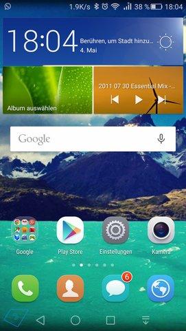 Huawei P8 software-1