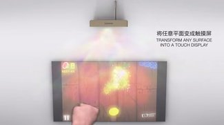 Lenovo Smart Cast: Laser Projector Smartphone erzeugt überall einen Touchscreen