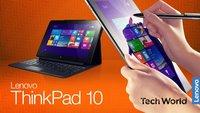 Lenovo ThinkPad 10 2. Gen. mit Windows 10 & Intel Atom x5 & x7 Prozessoren vorgestellt