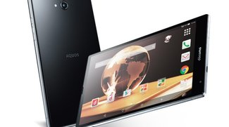 Sharp Aquos Pad SH-05G mit Snapdragon 810 &amp&#x3B; IGZO-Display vorgestellt