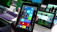 Microsoft zeigt Windows 10 für kleine Tablets mit neuer Oberfläche (Video)