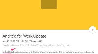 Android M Vorstellung zur Google I/O 2015 Ende Mai