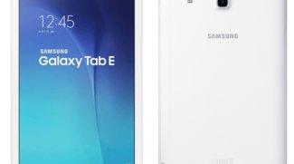 Samsung Galaxy Tab E 9.6 Android-Tablet für Asien vorgestellt