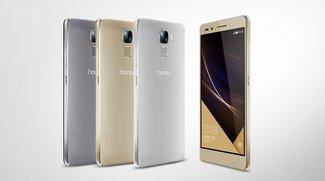 Huawei Honor 7 mit 5,2 Zoll, Kirin 935 &amp&#x3B; 20-MP-Kamera offiziell vorgestellt (Video)
