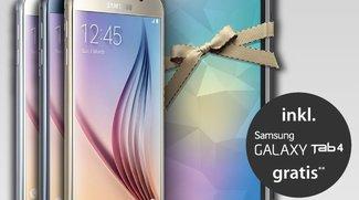 Aktion: Samsung Galaxy S6 (Edge) kaufen &amp&#x3B; Galaxy Tab 4 7.0 kostenlos erhalten