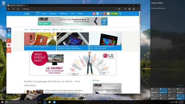 Windows 10 Build 10147 Preview zum Download geleakt