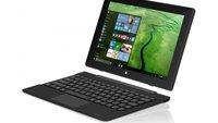 TrekStor SurfTab Twin: Windows-10-Tablet mit Tastatur für 260 Euro