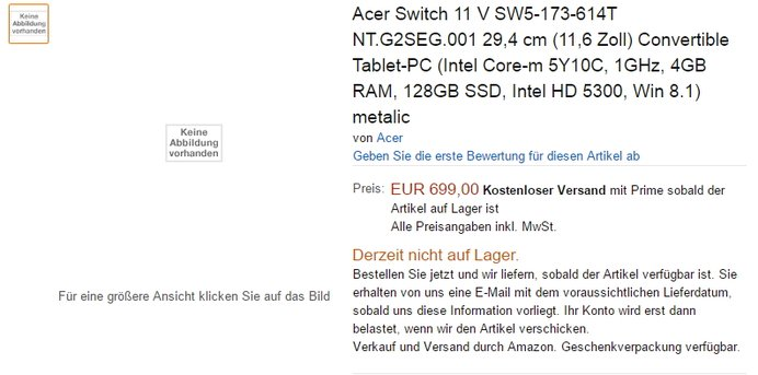 acer switch 11 v amazon