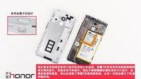 Huawei Honor 7 im Teardown in Einzelteile zerlegt (Bilder)