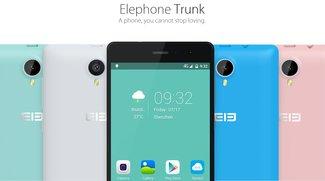 Elephone Trunk mit 5 Zoll, Dual-SIM, LTE &amp&#x3B; Snapdragon 410 vorgestellt (Video)