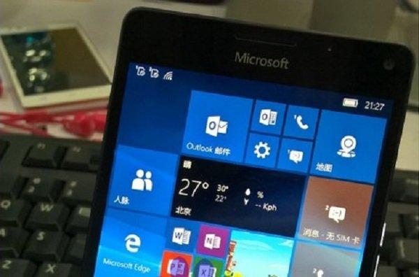Microsoft Lumia 950 (XL): Neues Foto zeigt kompakte Bauweise