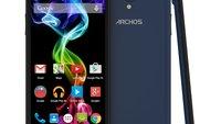 Archos 55 Platinum & 50c Platinum Smartphones offiziell vorgestellt