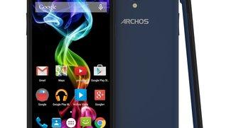 Archos 55 Platinum &amp&#x3B; 50c Platinum Smartphones offiziell vorgestellt