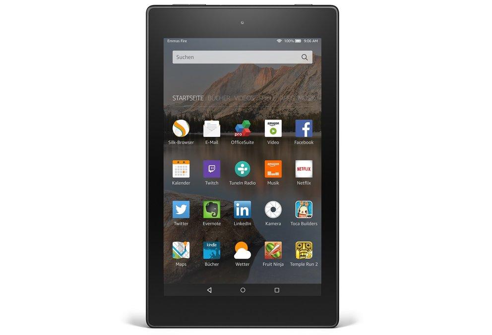 Amazon Fire, Fire HD 8 und HD 10 Tablets für ab 59,99€ vorgestellt