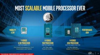 Intel stellt mobile Skylake Prozessoren mit verbesserter Performance vor