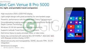 Dell Venue 8 Pro (5855) mit FHD-Display, Atom x5, Digitizer &amp&#x3B; Windows 10 in Vorbereitung