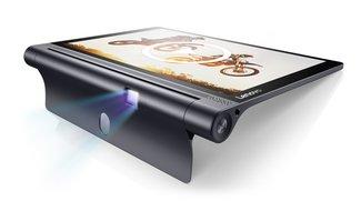 Lenovo Yoga Tab 3 Pro 10 mit Beamer &amp&#x3B; Yoga Tab 3 8 &amp&#x3B; 10 vorgestellt