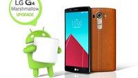 LG G4: Android 6.0 Update wegen technischer Probleme zurückgezogen (Download)