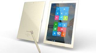 Toshiba dynaPad Tablet mit 12 Zoll, Digitizer &amp&#x3B; Tastatur-Dock vorgestellt
