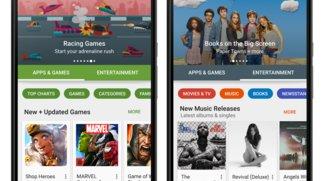 Google Play Store: Version 6 mit neuem Design