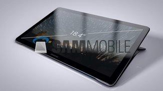 Samsung Galaxy View: 18,4-Zoll-Tablet mit Griff &amp&#x3B; Kickstand auf neuen Bildern