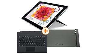 Deal: Surface 3 mit 4 GB RAM, 128 GB Speicher, Type Cover &amp&#x3B; Dockingstation für 749€