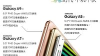 Samsung Galaxy A9 mit 1080p-AMOLED-Display, 3 GB RAM in China zertifiziert