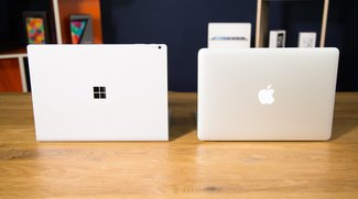 Vergleich: Surface Book vs. MacBook Pro (Video)