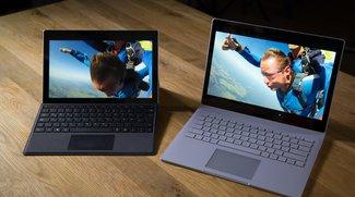 Surface Pro 4 und Book: Firmware-Update verbessert Cortana-Spracherkennung und mehr
