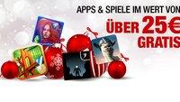 Amazon App-Shop: 13 Gratis-Apps zu Weihnachten im Wert von über 25€