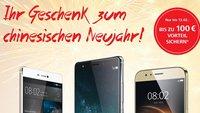 Huawei Mate S, P8, GX8 oder G8 kaufen & bis zu 100€ Cashback erhalten