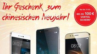 Huawei Mate S, P8, GX8 oder G8 kaufen &amp&#x3B; bis zu 100€ Cashback erhalten