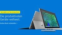 Surface Book im Microsoft Store vorbestellen - 10% Rabatt für Studenten (Video)