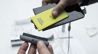 LG G6: Ohne Module, aber mit Wechsel-Akku