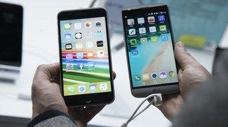 Vergleich: LG G5 vs. Apple iPhone 6s Plus (Video)