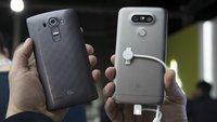 Vergleich: LG G5 vs. LG G4 (Video)