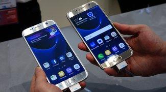 Samsung Galaxy S7 vs. Pfanne, Waschmaschine &amp&#x3B; Wasserhahn (Video)
