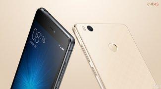 Xiaomi Mi 4s: 5 Zoll, Snapdragon 808 &amp&#x3B; 3260 mAh-Akku vorgestellt
