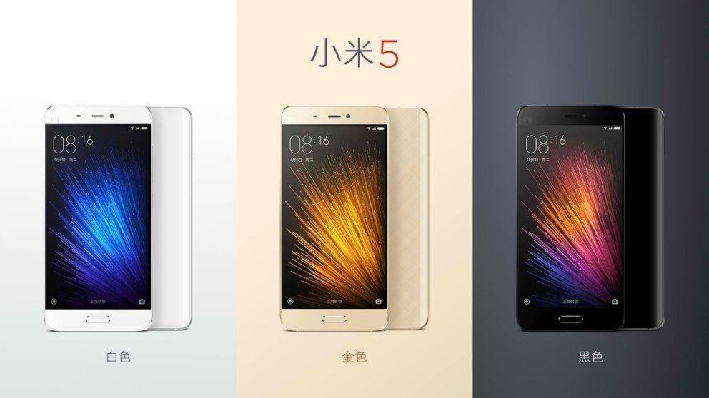 Xiaomi Mi 5: 5,15 Zoll, Snapdragon 820 &amp&#x3B; 3.000 mAh-Akku vorgestellt (Video)