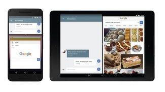 Android N: Multitasking mit Apps in frei skalierbaren Fenstern möglich