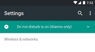 Android N: Screenshots zeigen überarbeitete Systemeinstellungen
