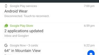 Android N: Google überarbeitet Benachrichtigungen und Quick Settings
