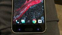 HTC 10: Neue Fotos zeigen Smartphone in eingeschaltetem Zustand