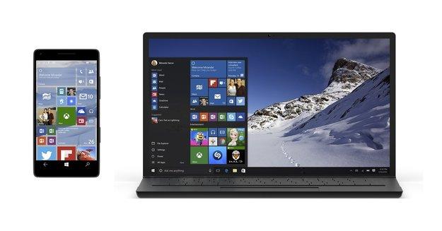 Windows 10: Insider Preview Build 15014 für PC und Mobile zum Download